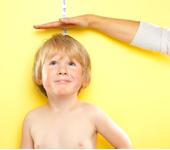 vroege puberteit lengte